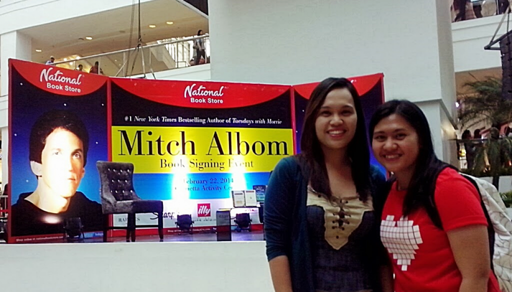 Mitch Albom Book Signing